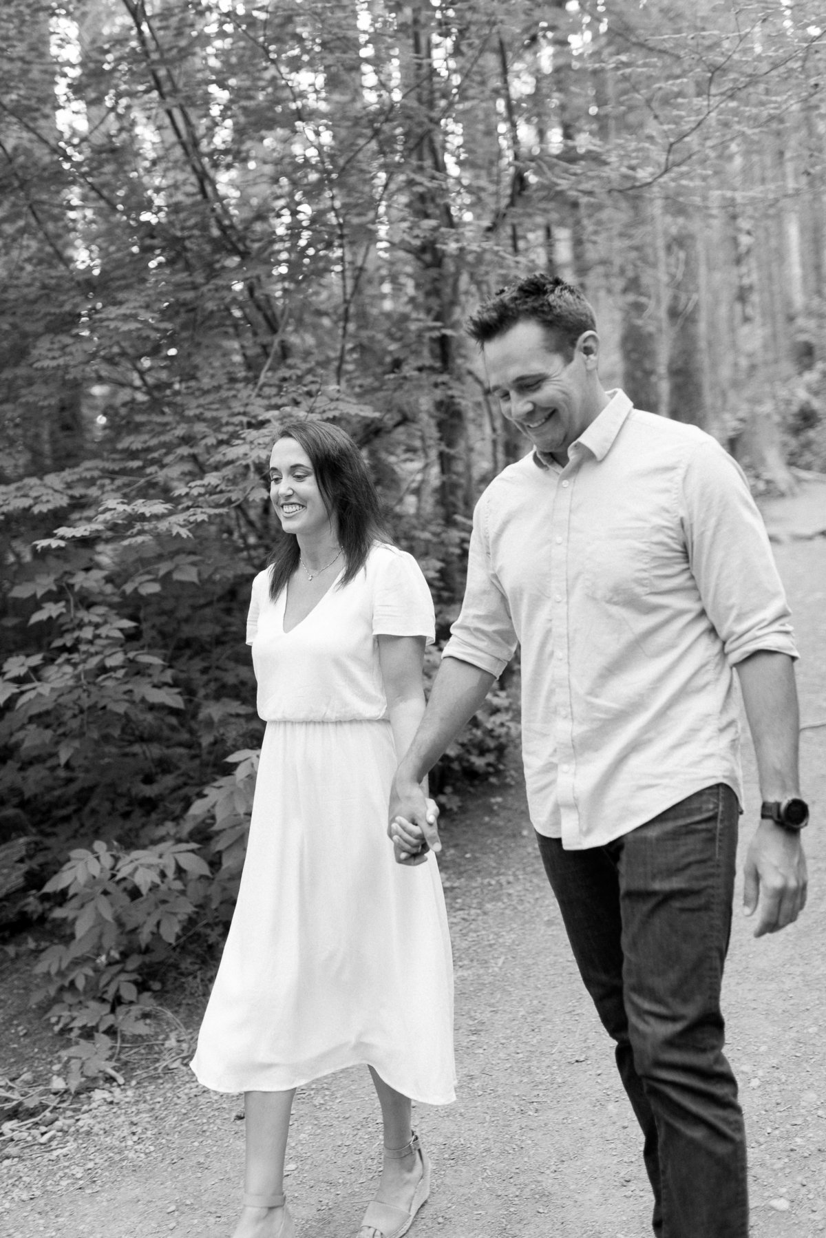 Rattlesnake Lake Engagement Session - 39