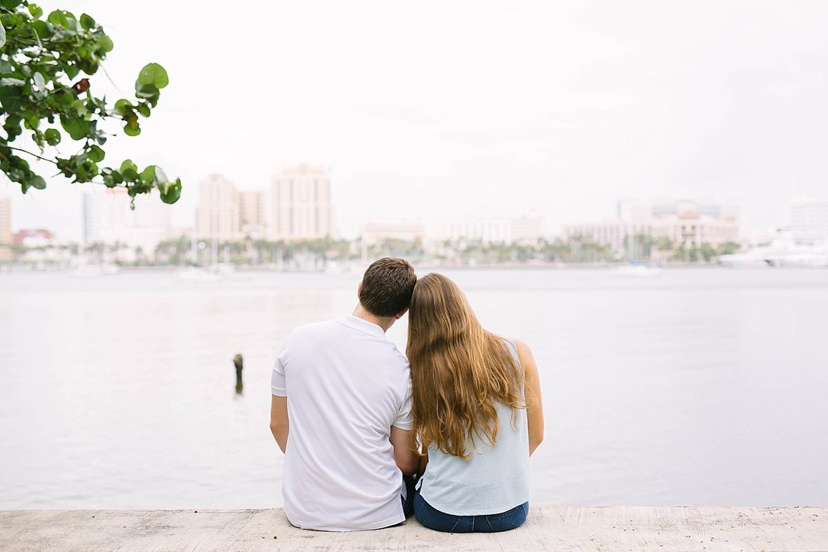 West Palm Beach Florida Engagement Session Flagler Museum_0004