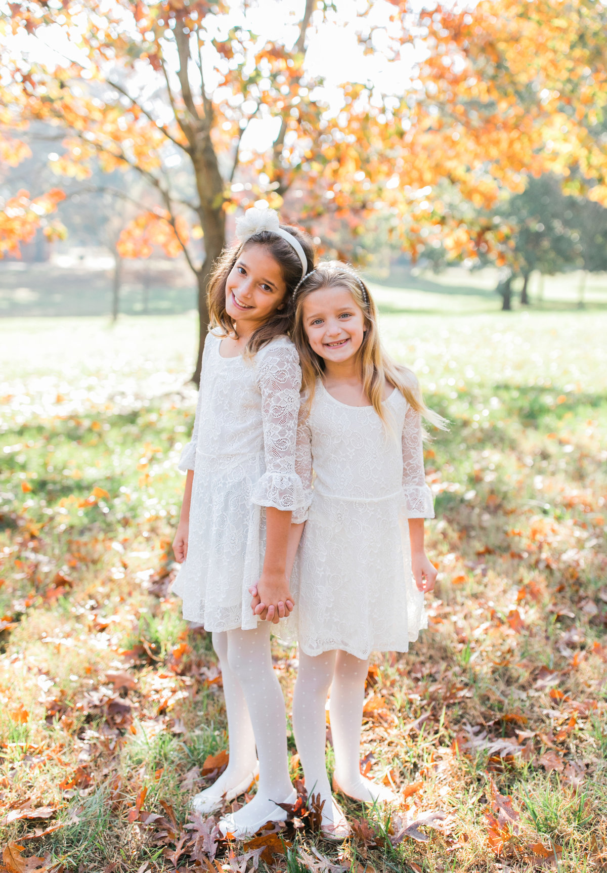 Raleigh Family Photographer Sisters
