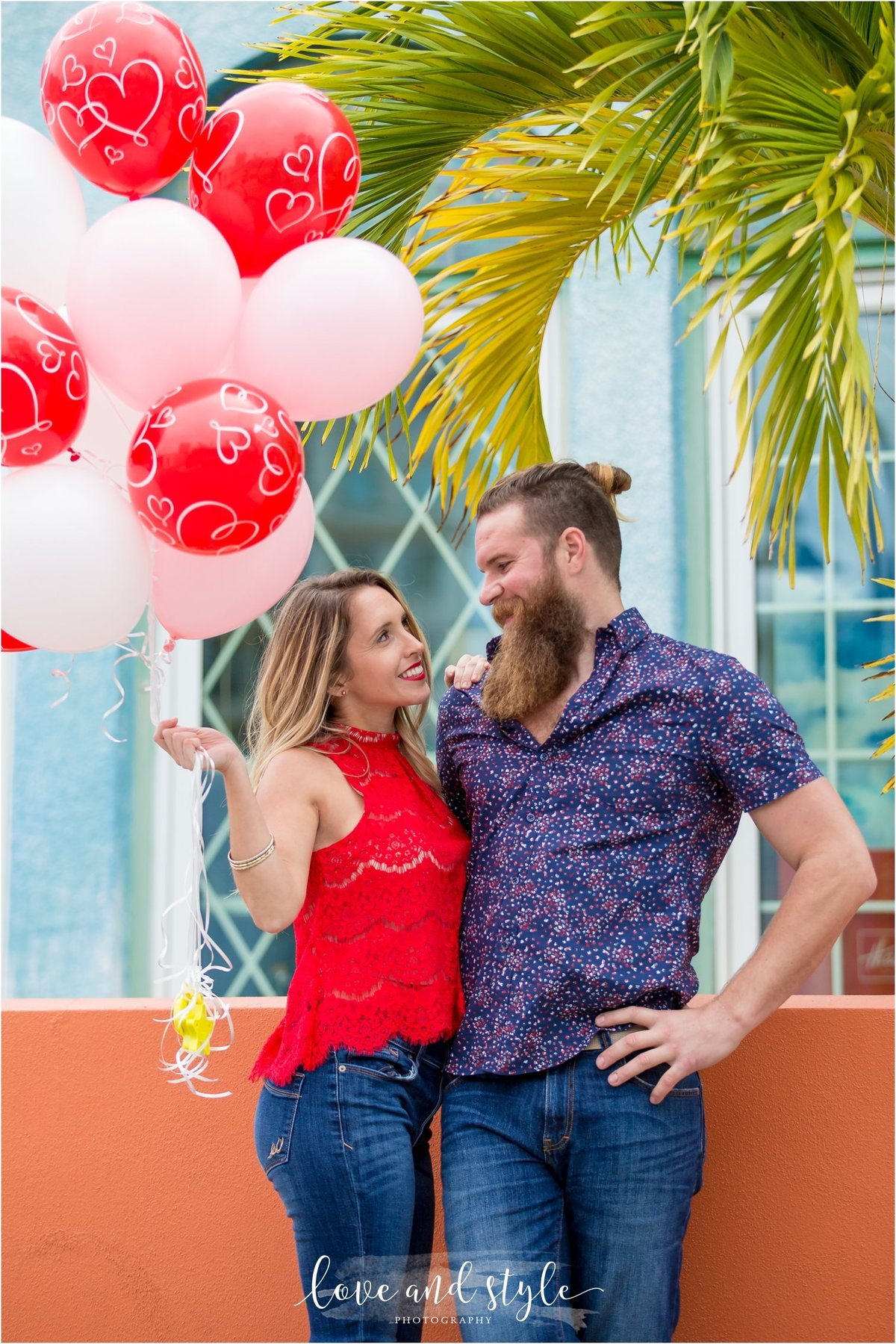 Engagement Photography in downtown Sarasota