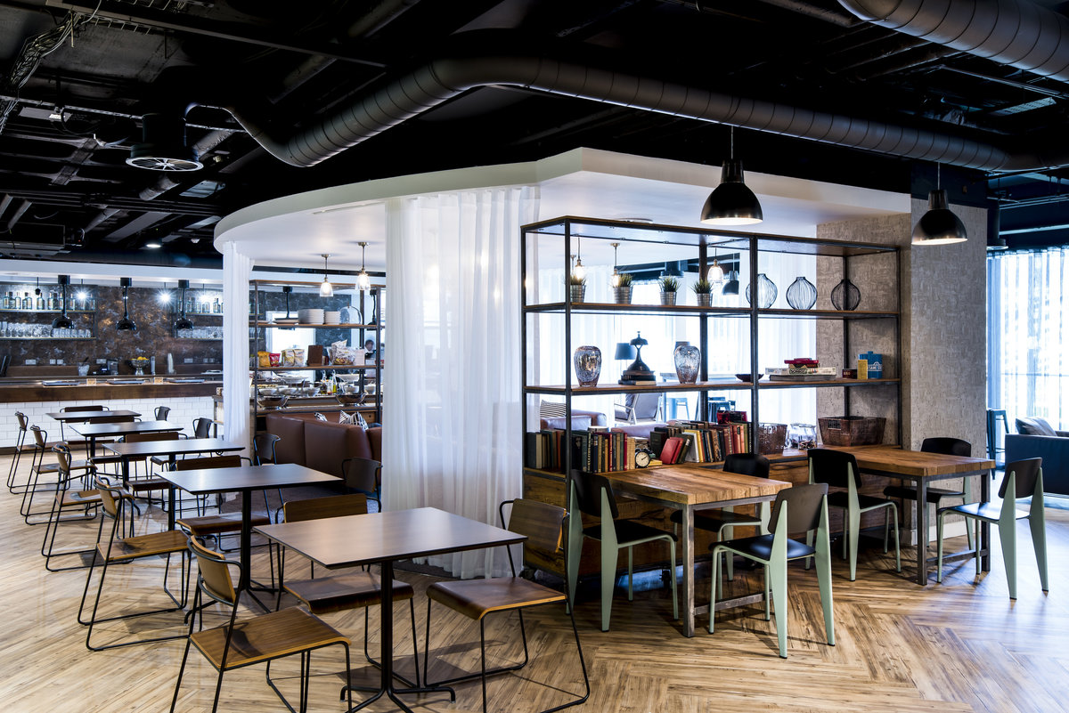 area sq cantine interior design