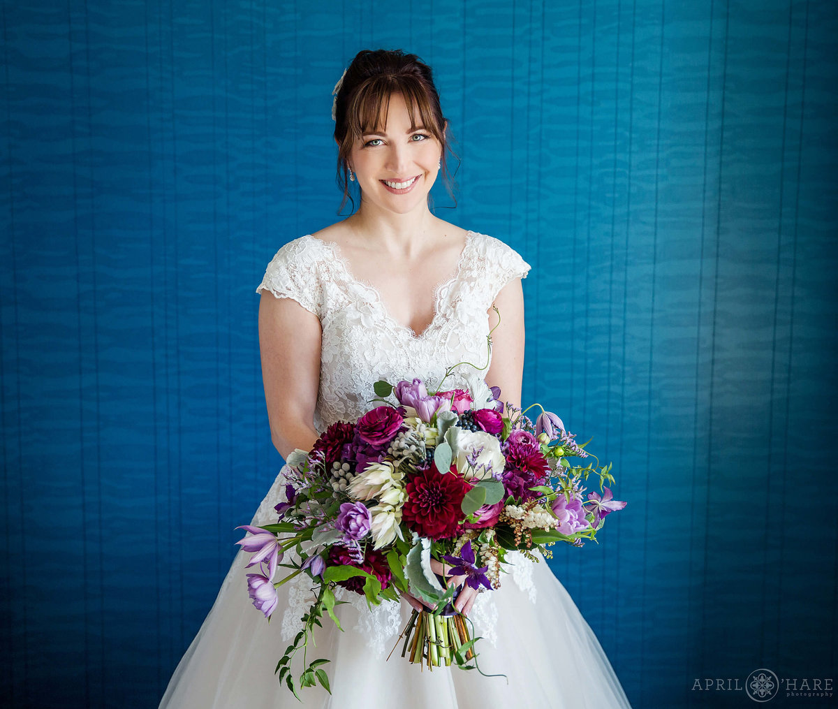 Bright and Colorful Denver Colorado Wedding photographer at JW Marriott Cherry Creek