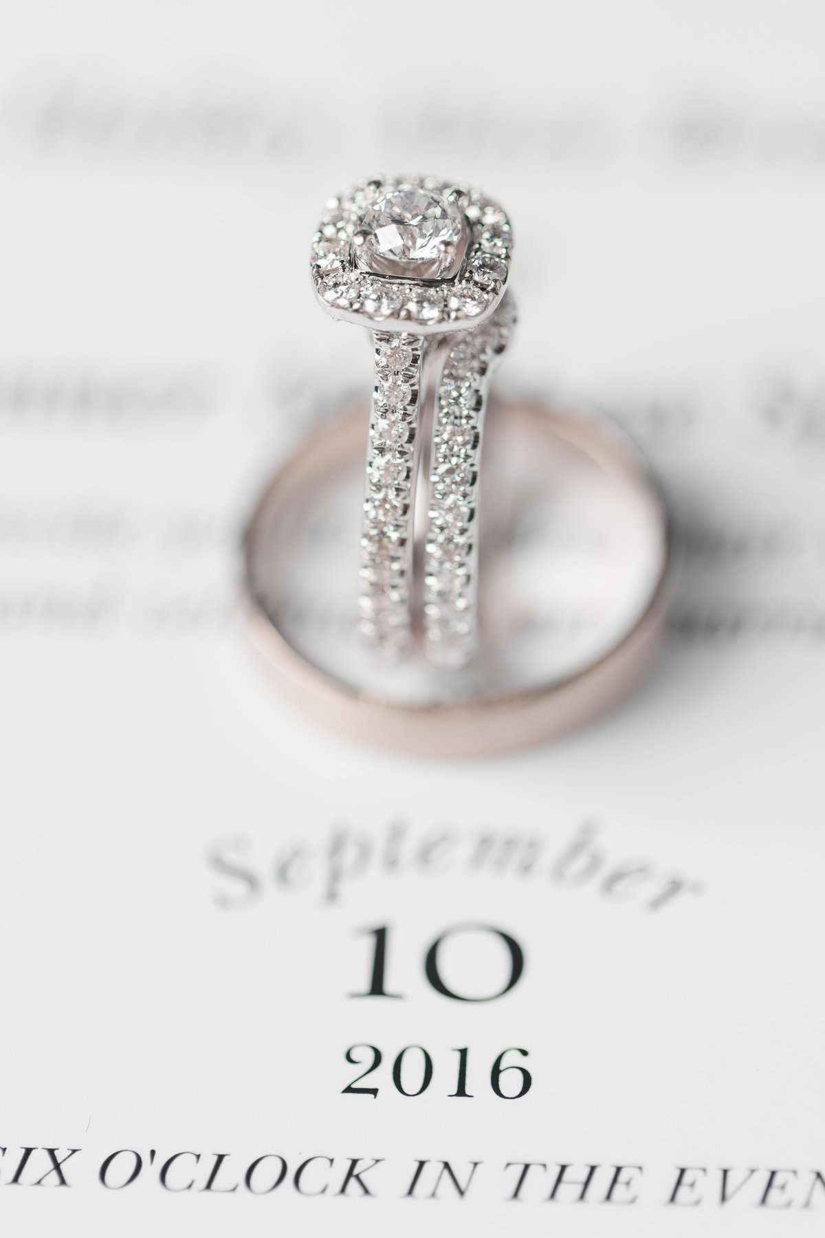 bellingham photographers wedding ring photo