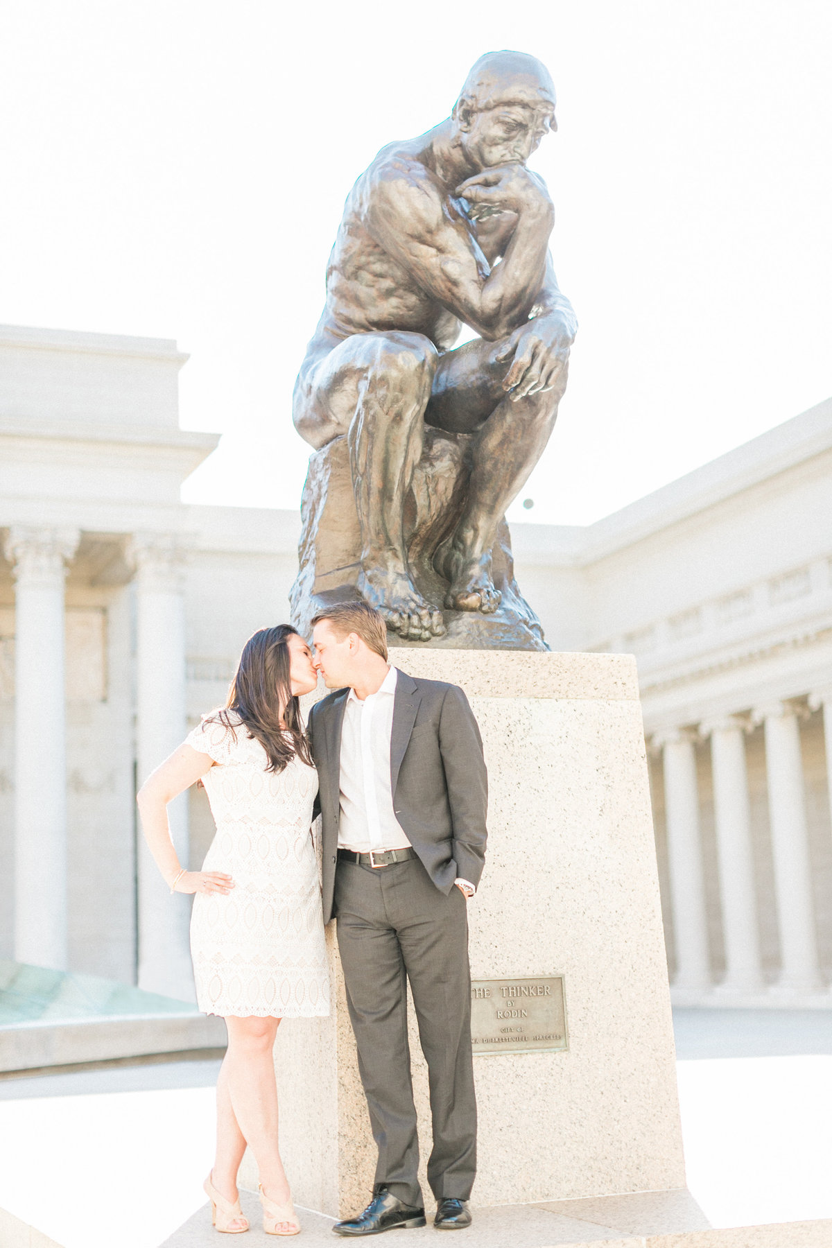 French Inspired Rodin Engagement