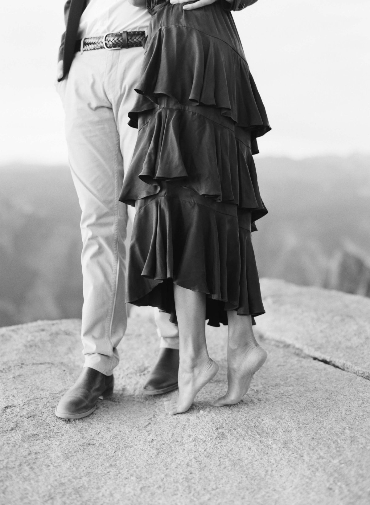 74-KTMerry-engagement-photography-couples-feet-Yosemite