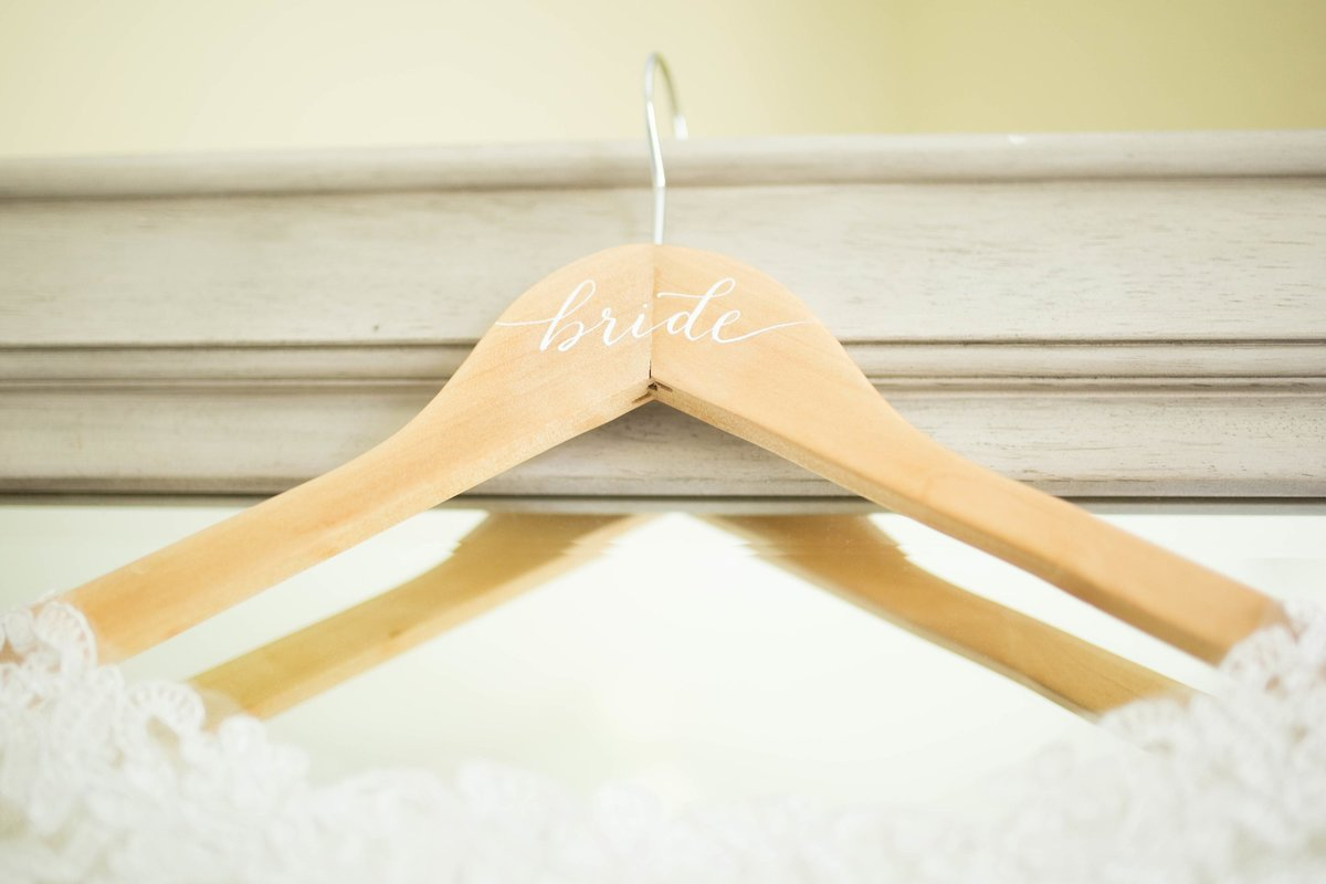 wedding hanger bride gift