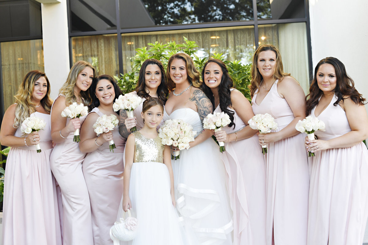 blush pink gold ivory vintage wedding venetian new jersey event designer 3