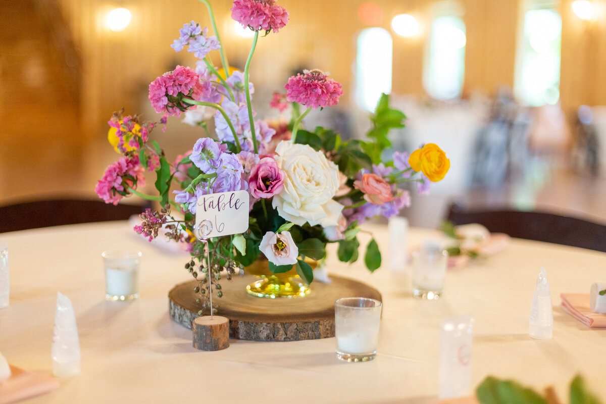 Spring Floral Table Decor at the Springs in Cypress, TX
