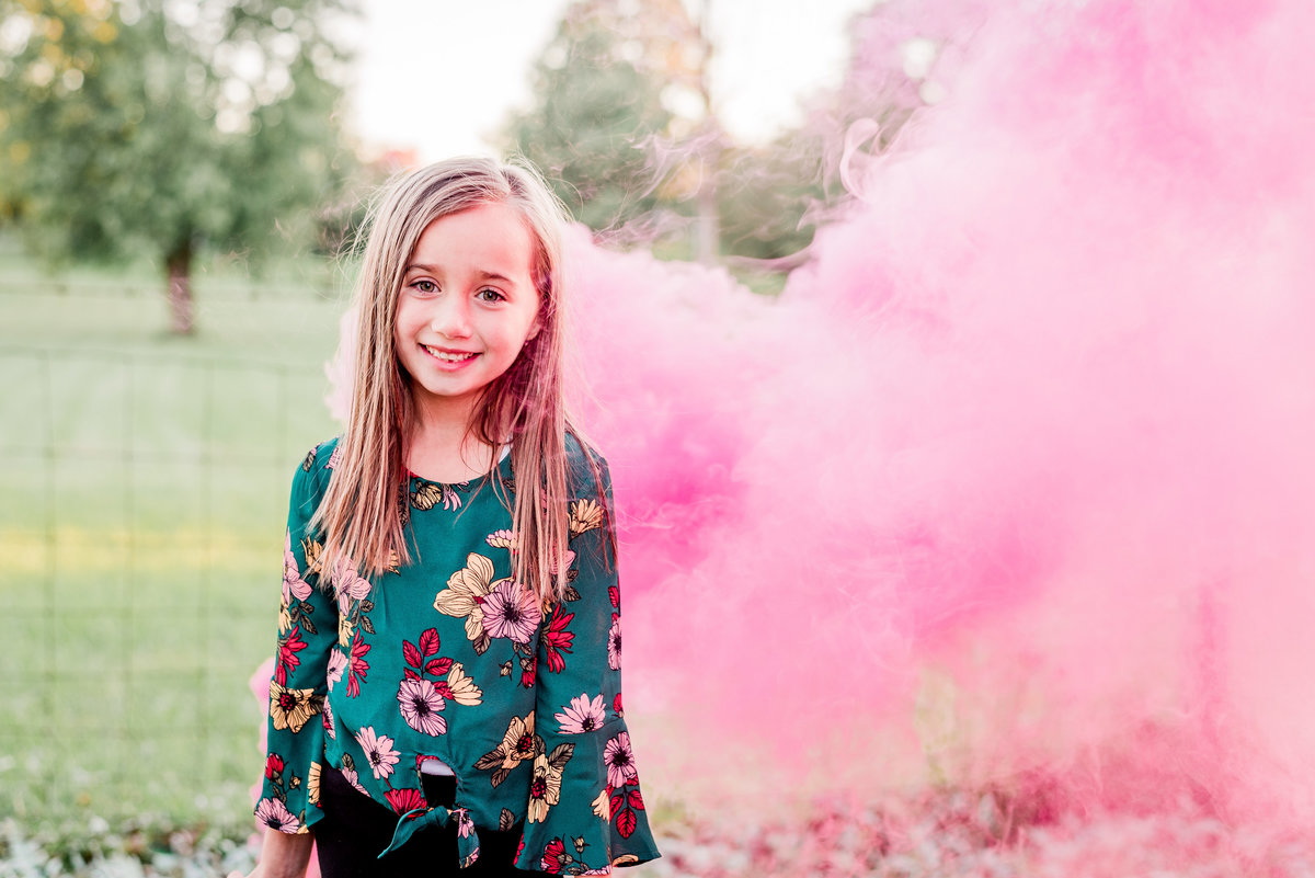 Cait Potter Creative LLC Mommy & Me Family Photography Farm Fall Rutic Smoke Bomb-14