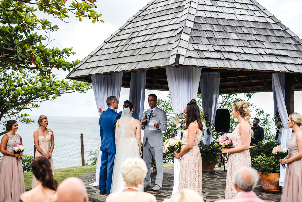 Cap Maison St Lucia Destination Wedding - 119