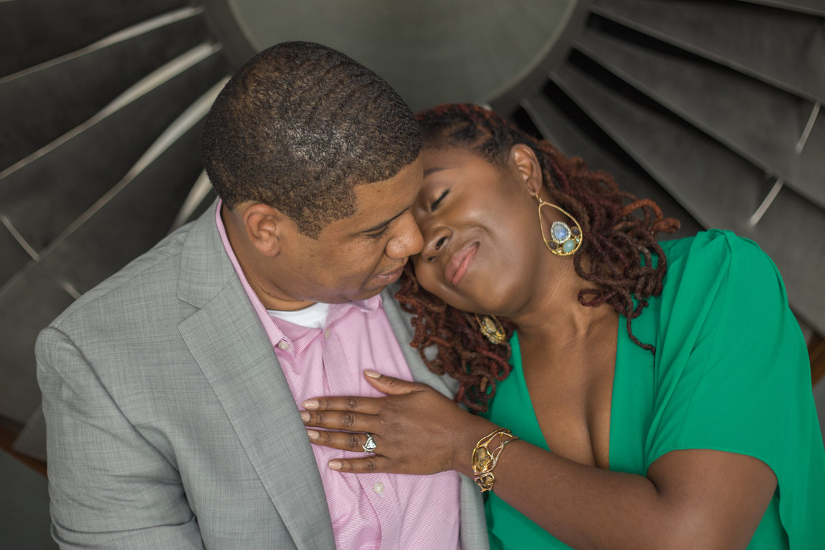 Check out this amazing couple as they experience their travel themed engagement session.