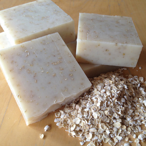 oatmeal cold process soap
