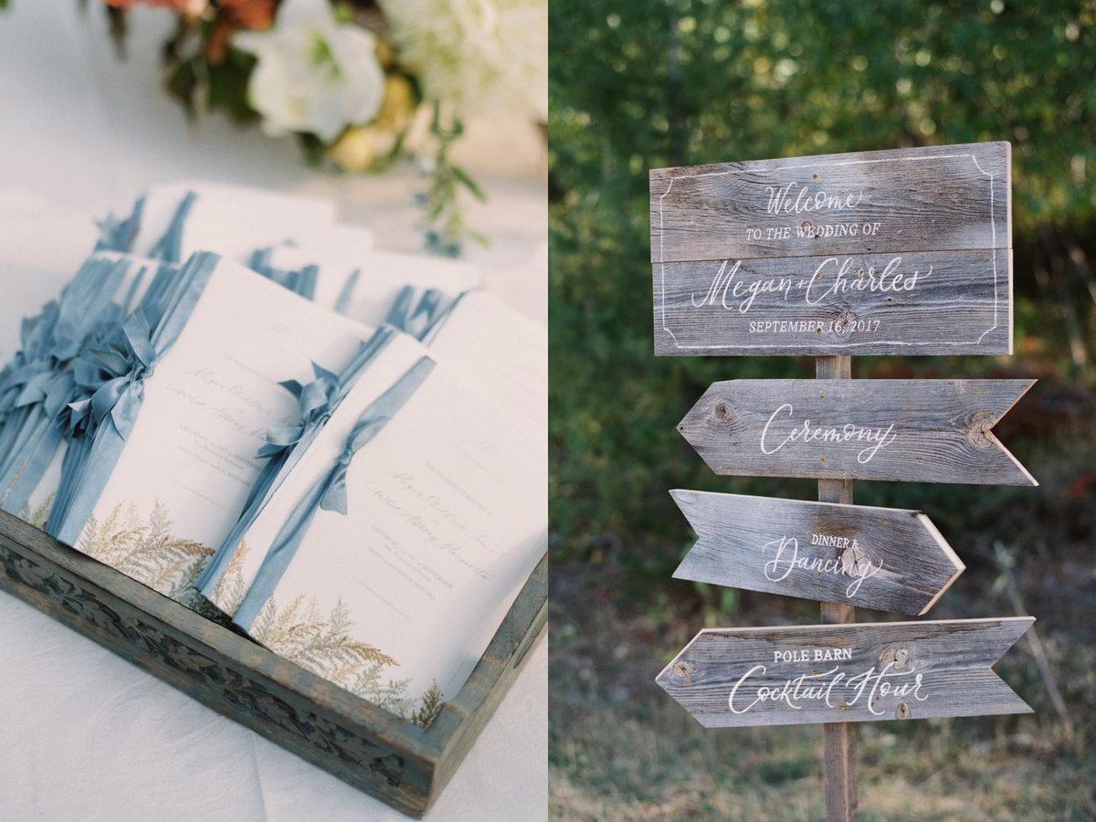 September Montana Wedding