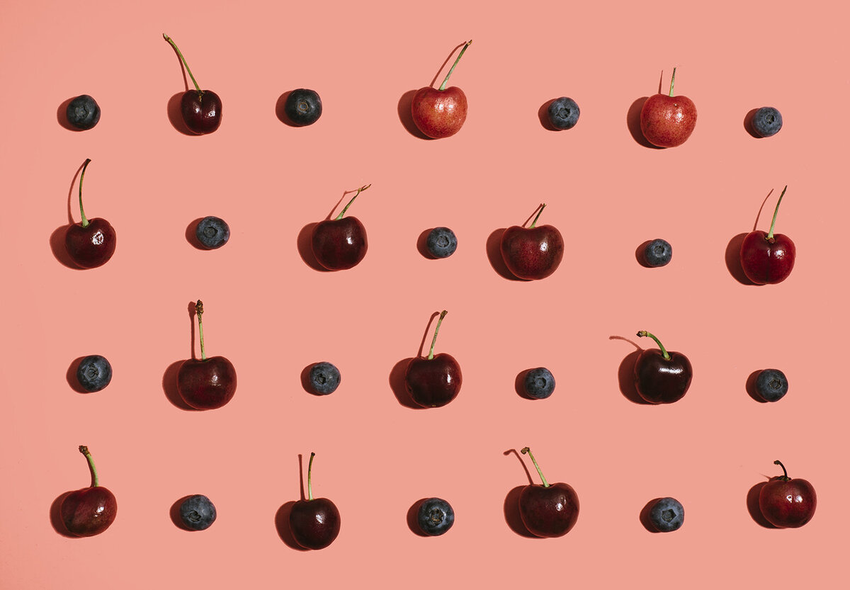 los angeles food photographer produce photography cherries