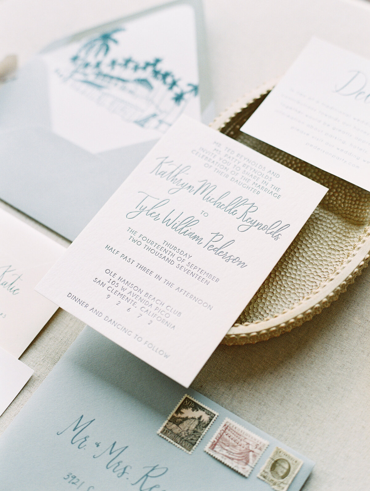 pirouettepaper.com | Wedding Stationery, Signage and Invitations | Pirouette Paper Company | Ole Hanson Beach Club San Clemente Wedding | Mallory Dawn Photography  (21)
