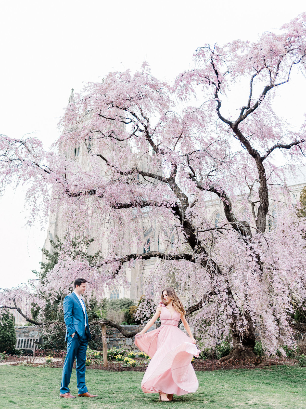 national-cathedral-dc-cherry-blossoms-film-photographer-wedding