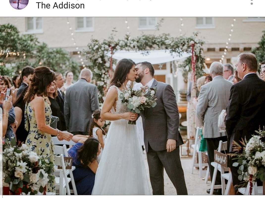 The Addison Wedding Jessica Cotzin