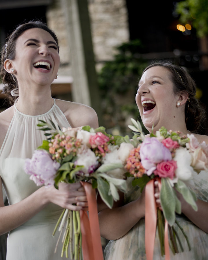 Bridesmaids at Washington DC Church Wedding