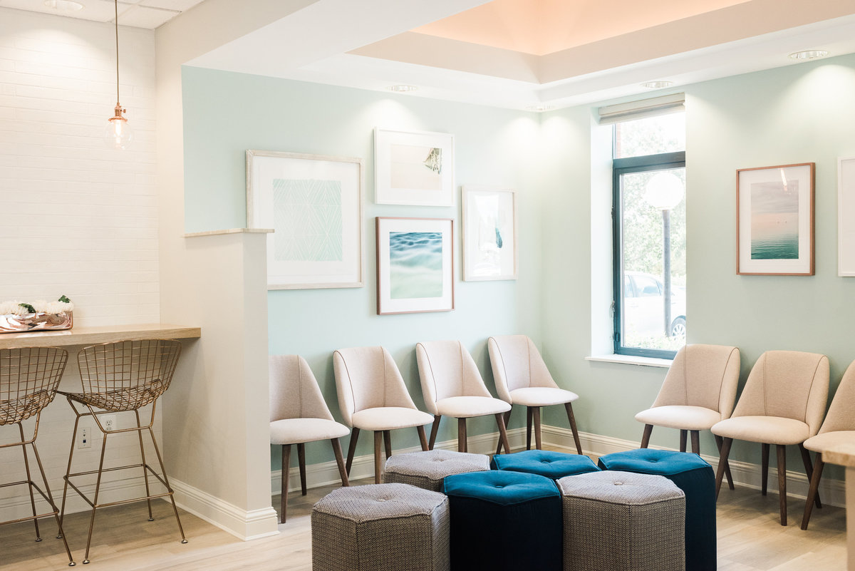 Orthodontic Office Waiting Room | Annapolis Orthodontics Annapolis, MD