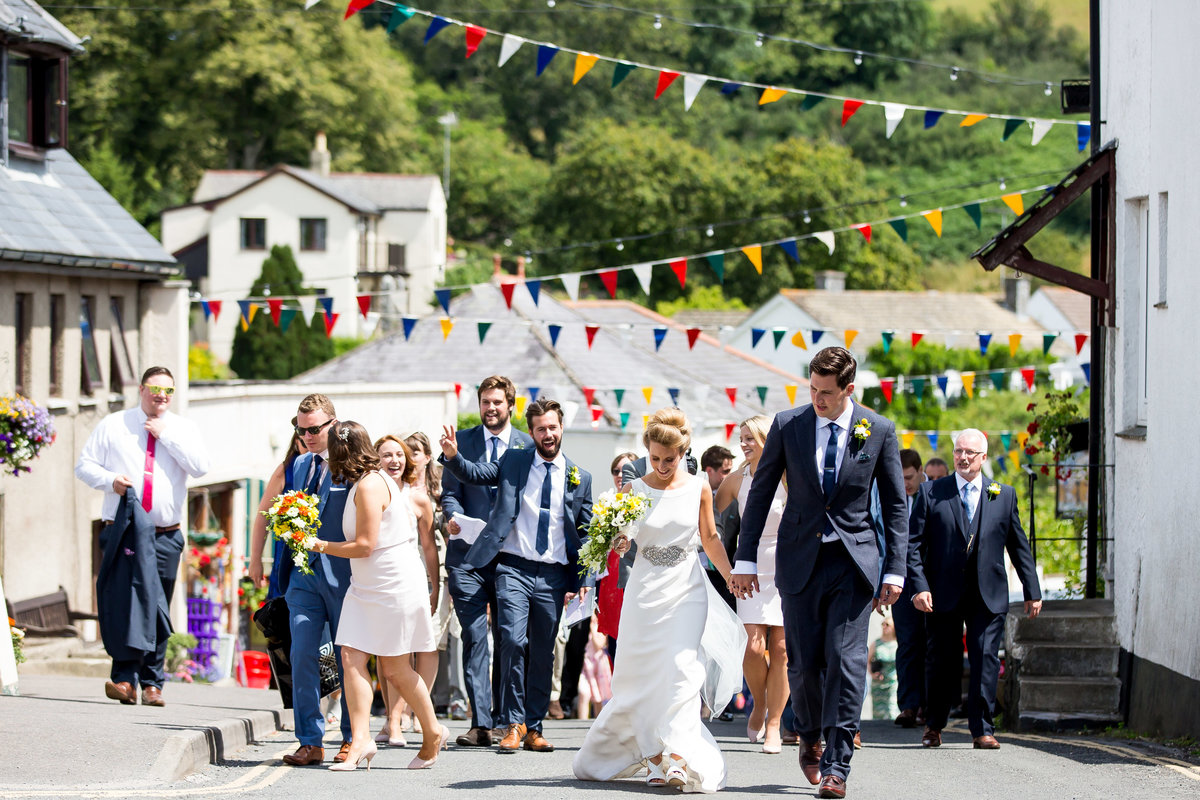 devon village wedding