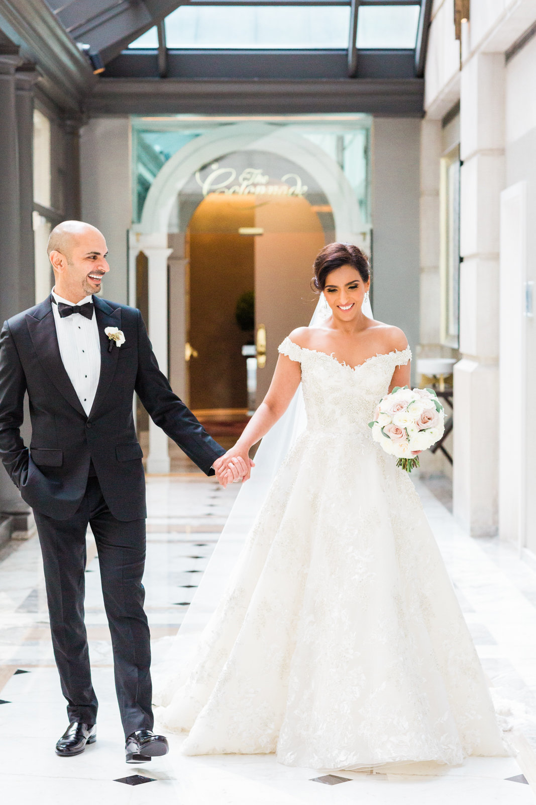 Fairmont Hotel luxury wedding photographer