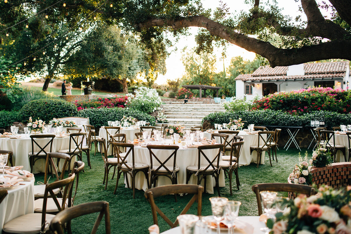 Quail Ranch Wedding Reception - Thousand Oaks Wedding Photographer