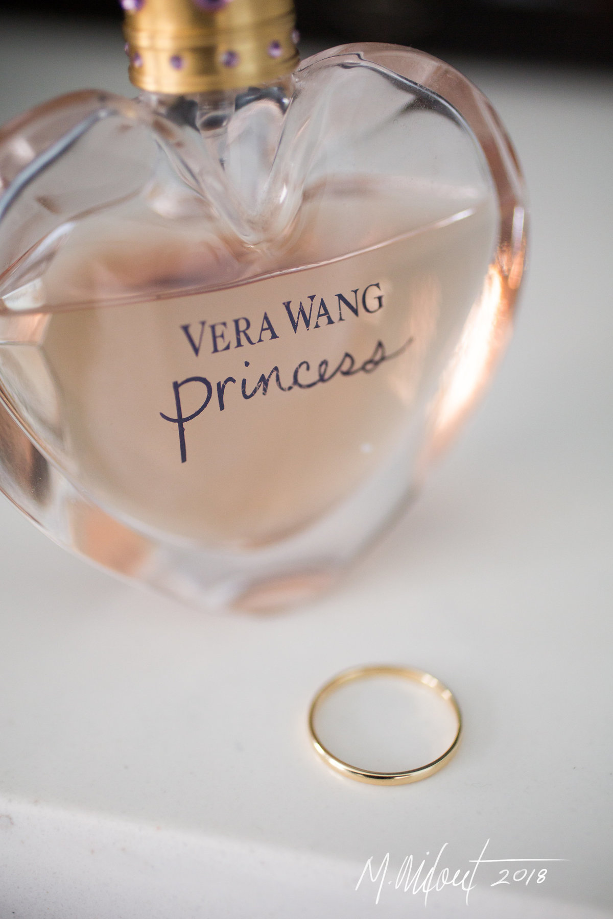 vera wang princess perfume and wedding ring