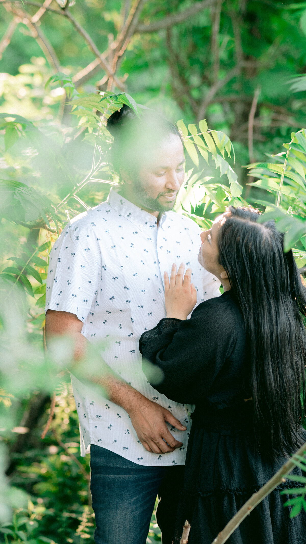 London Ontario Interracial Couple Engagement