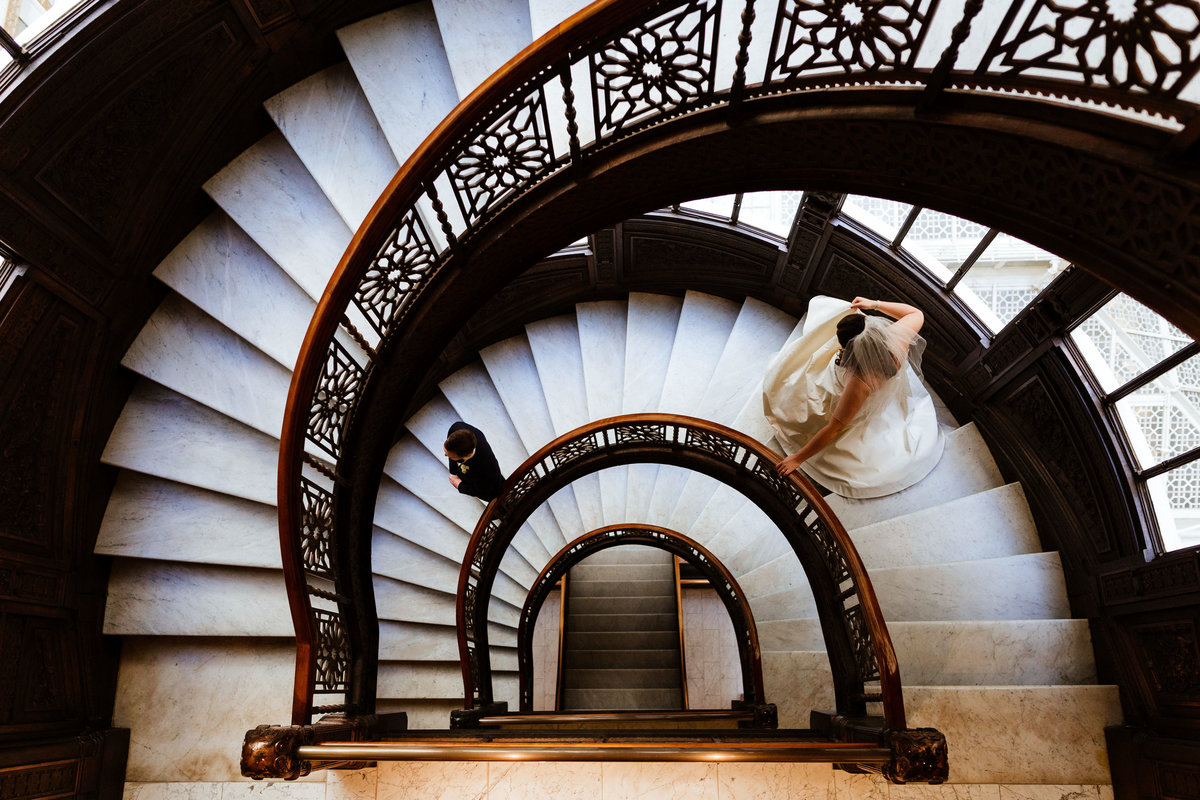 Rookery-Chicago-Wedding-Photos