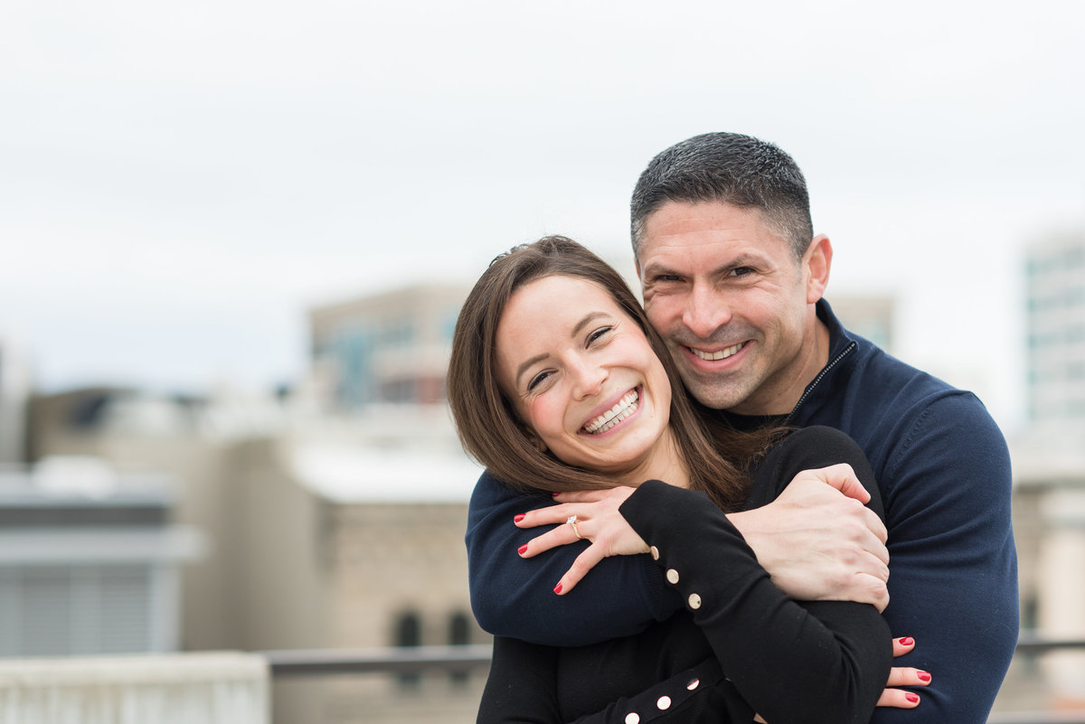 A Winter Downtown Boise Rooftop Engagement Shoot 011