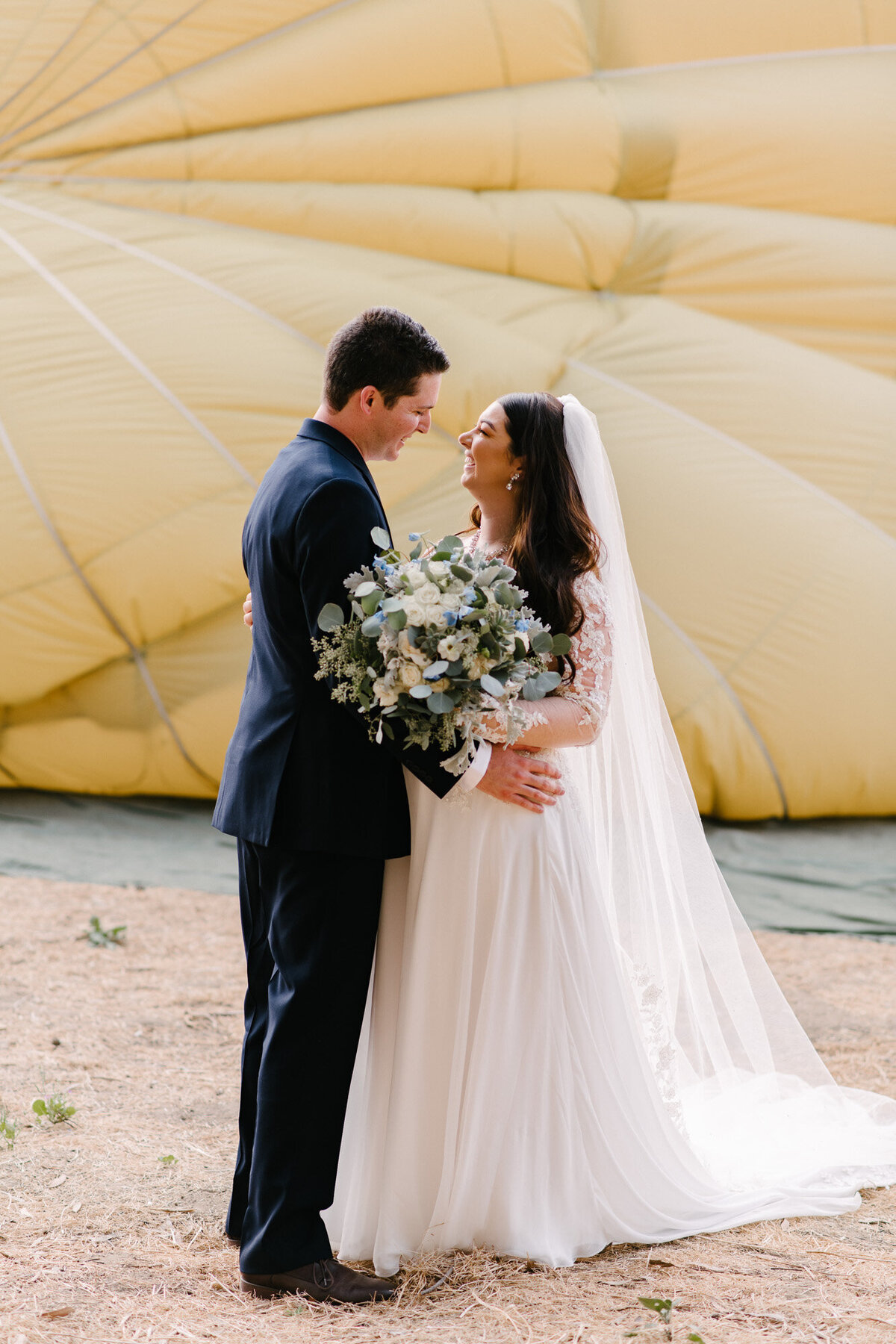 Hot Air Balloon Elopement Marie Monforte Photography-98
