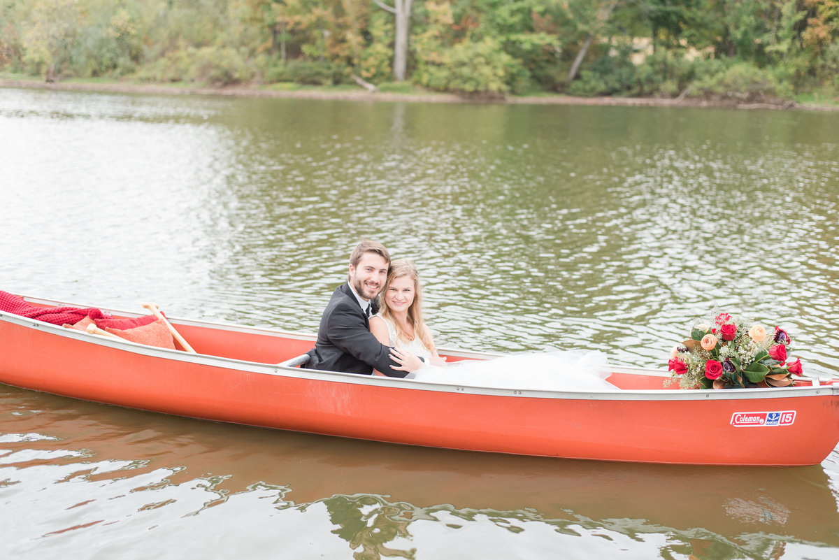 Canoe Adventure Wedding-5