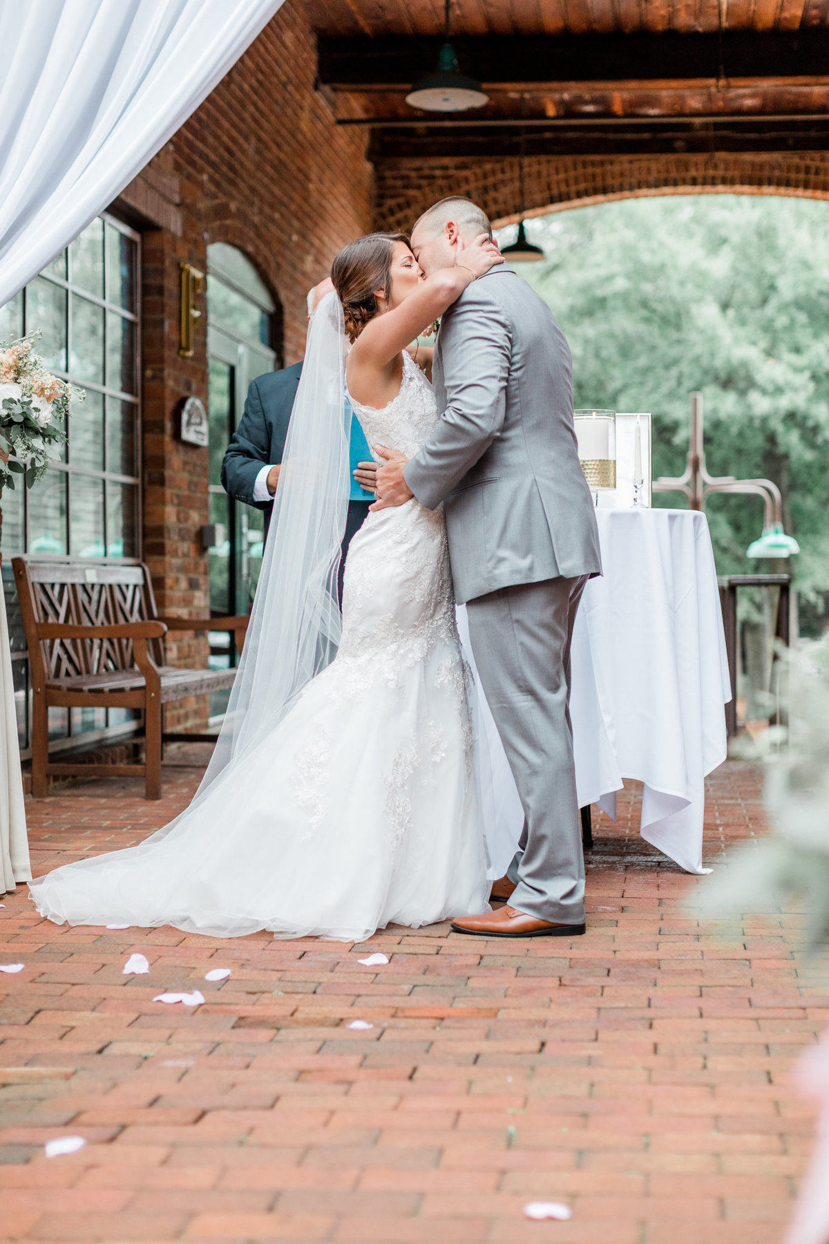 The Barn at Reynolda Wedding Photographer