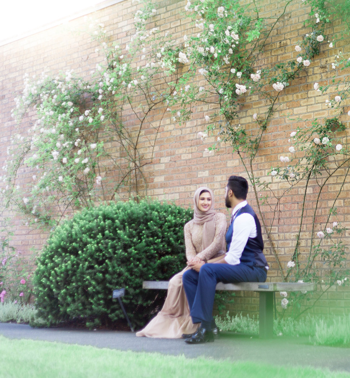 Humna & Fahad Chicago Botanic Engagement -7