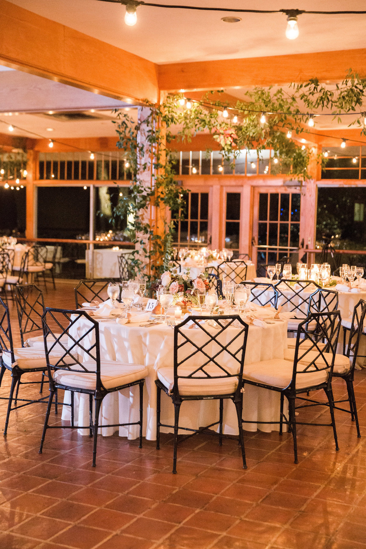 Winterthur wedding reception florist