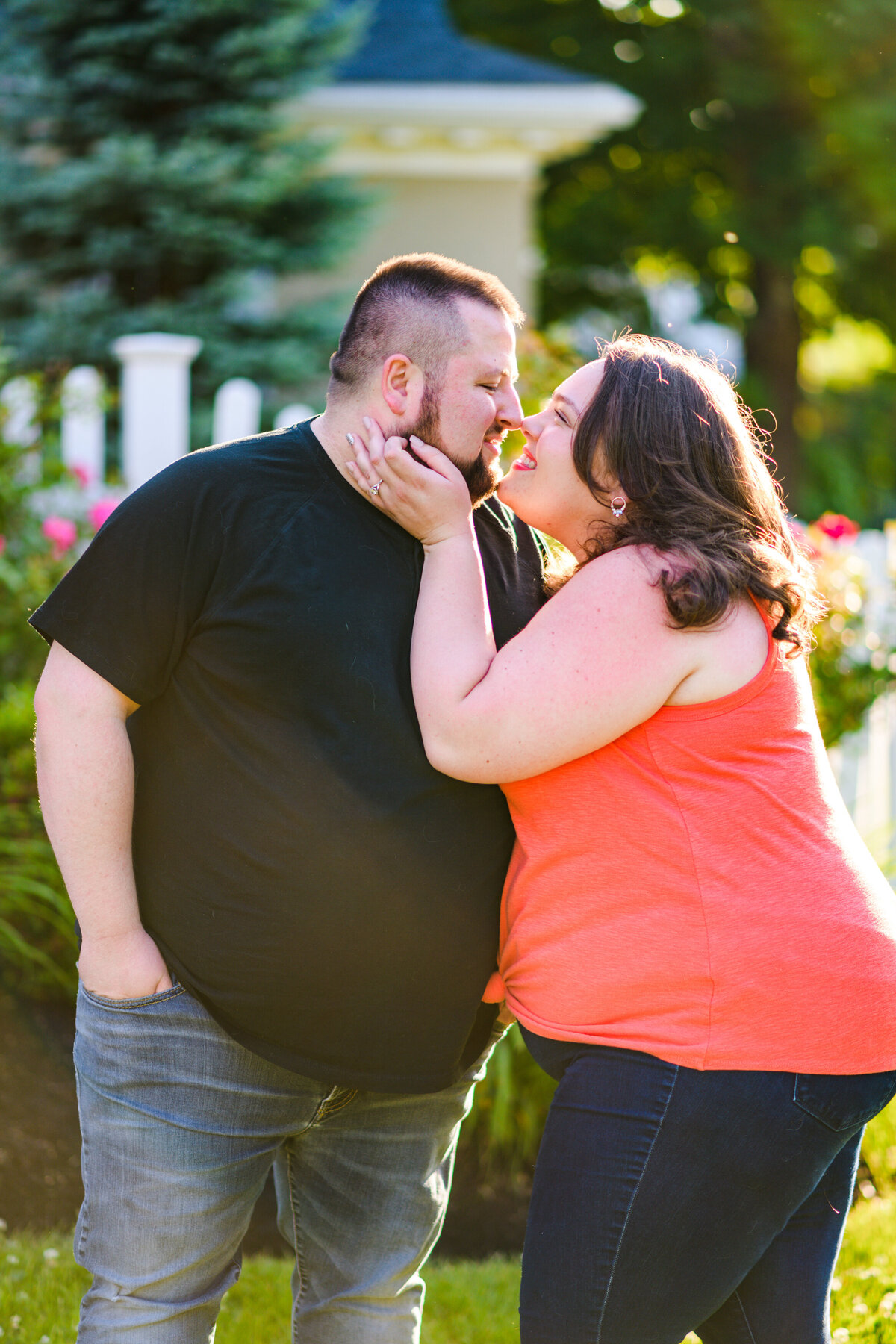 Haverhill MA engagement session