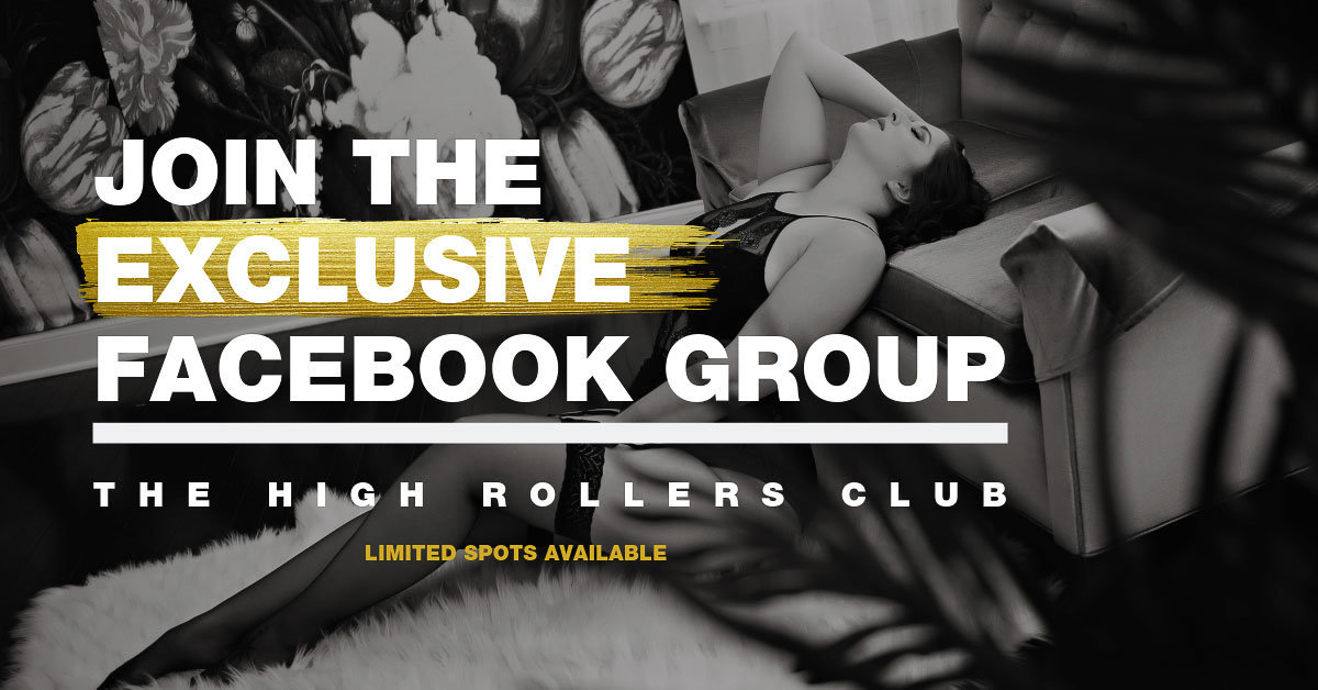 Join the Exclusive Facebook Group to the High Rollers Club