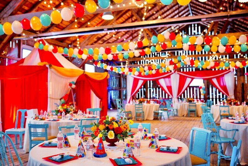 Circus Themed 1st Birthday Indianapolis Party Planner_0134