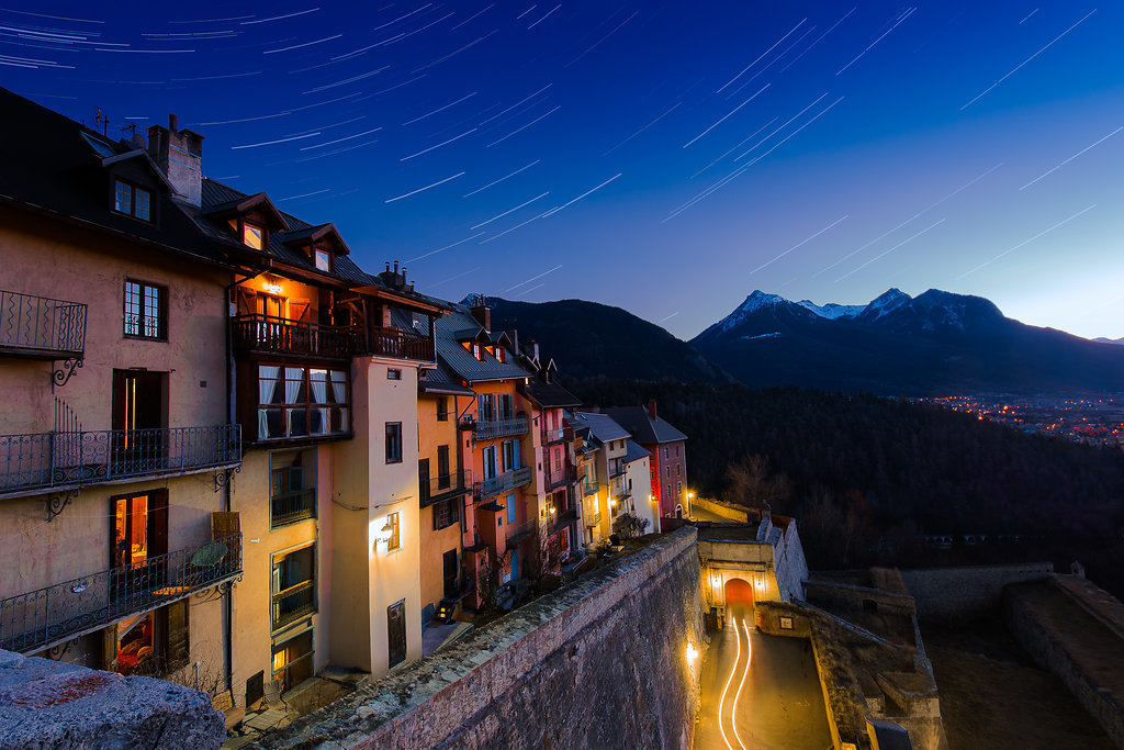 Stars-over-old-town