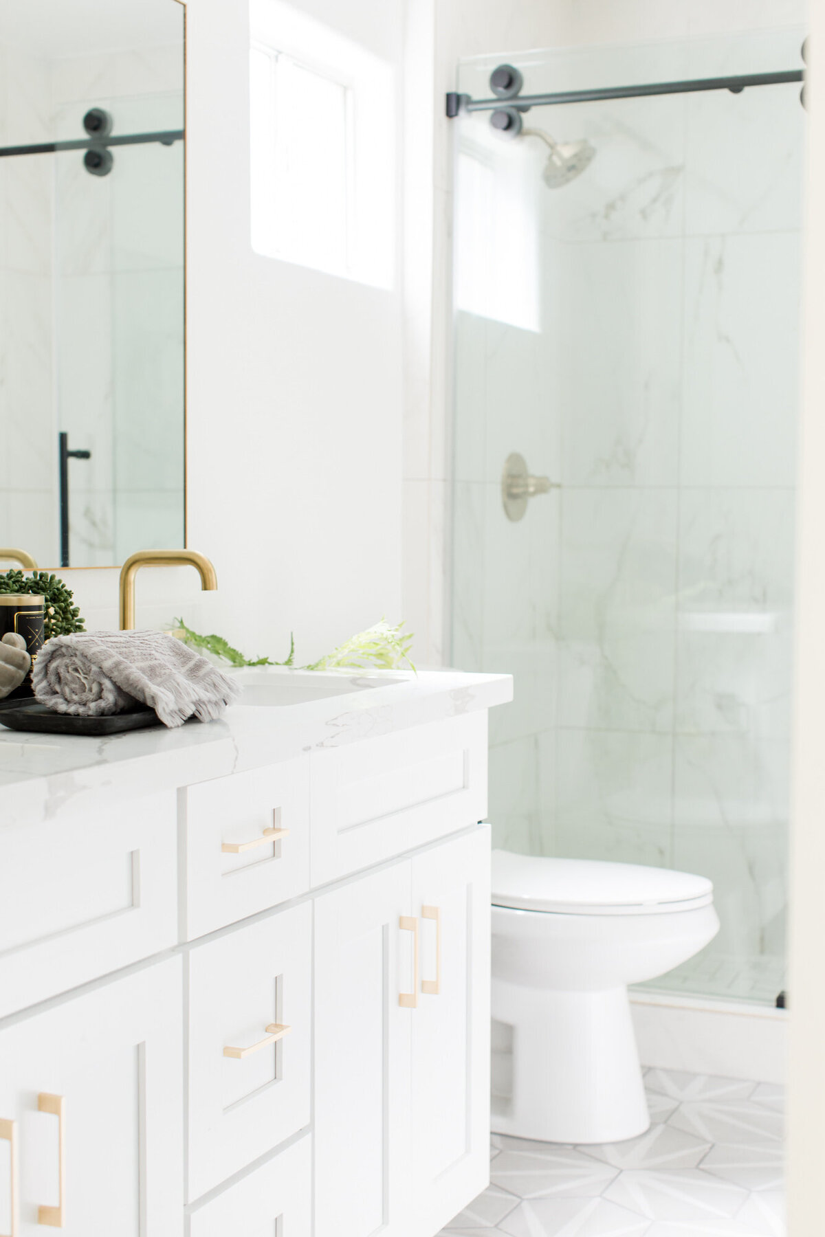 The Posh Home Bathroom Styling 2