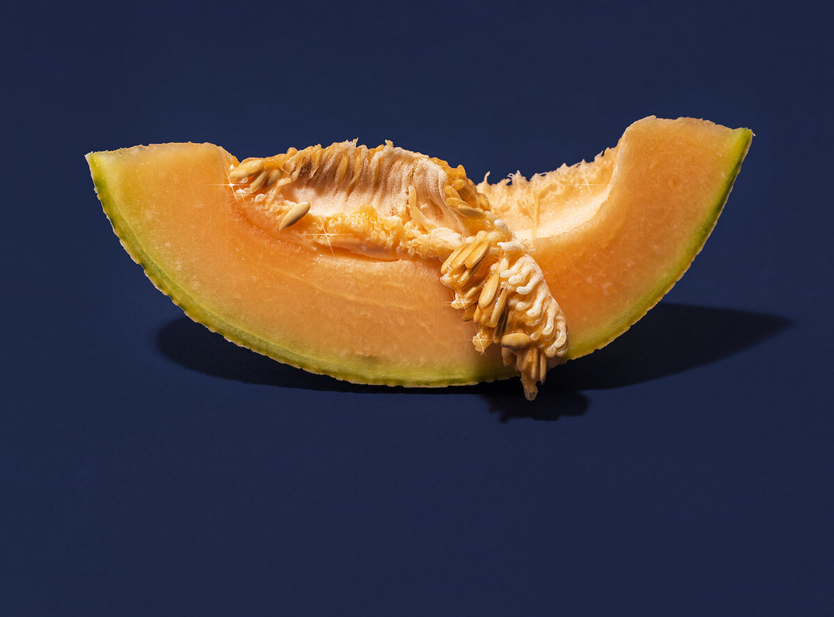 los angeles food photographer produce photography cantaloupe