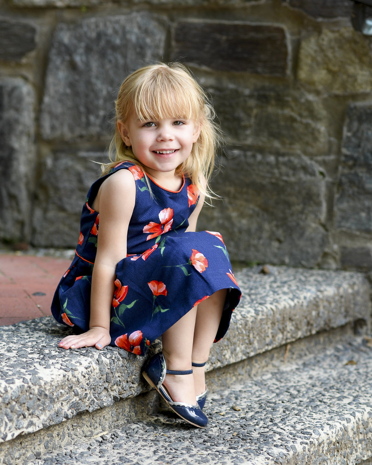 Summer Family Portraits at Georgetown University