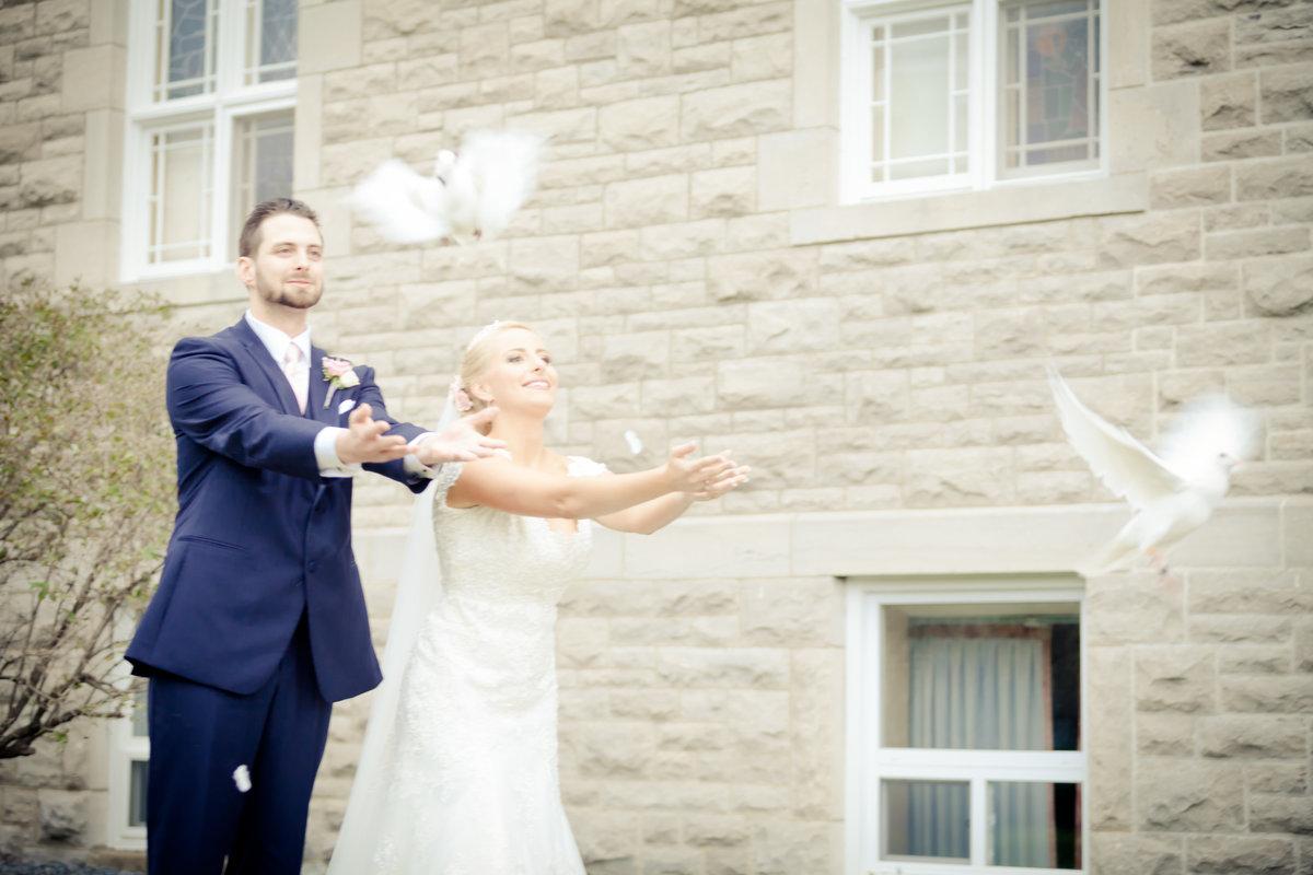 Dove Release Ottawa Wedding