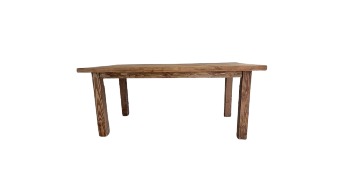 Farm table- classic sweetheart straight legs