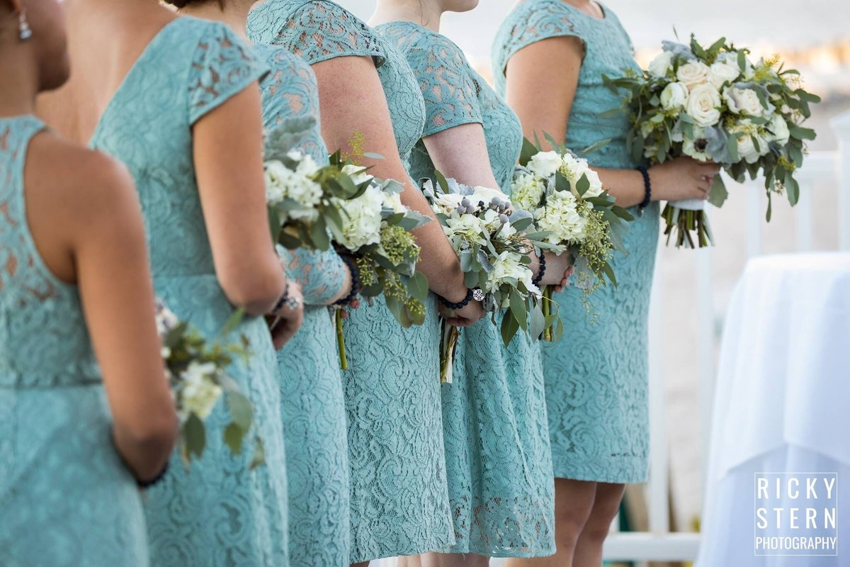 Hillsboro sage green wedding