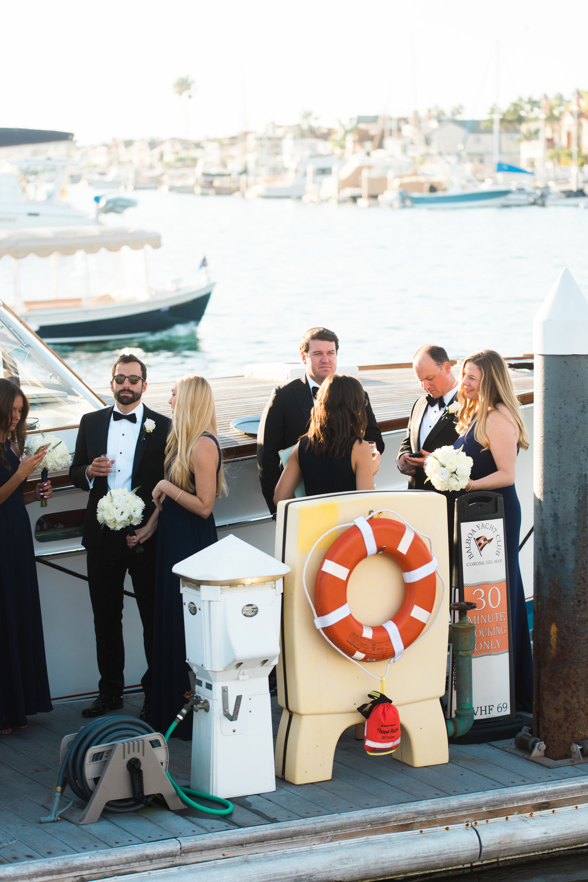 High Res Jon and Paige Newport Harbor Yacht Club Wedding _ Hello Blue Photo -538
