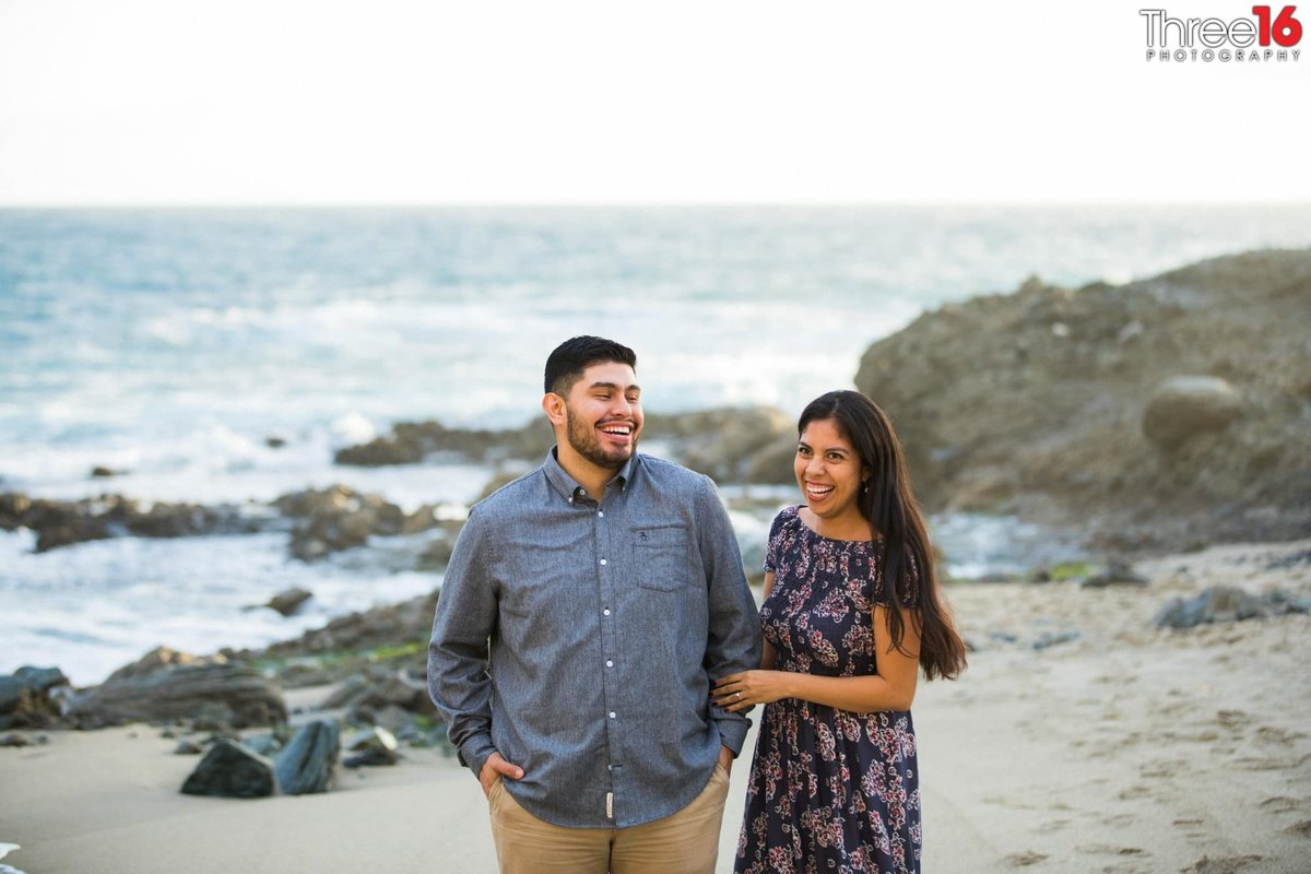 Table Rock Beach Engagement Sessions Laguna Beach Orange County Weddings