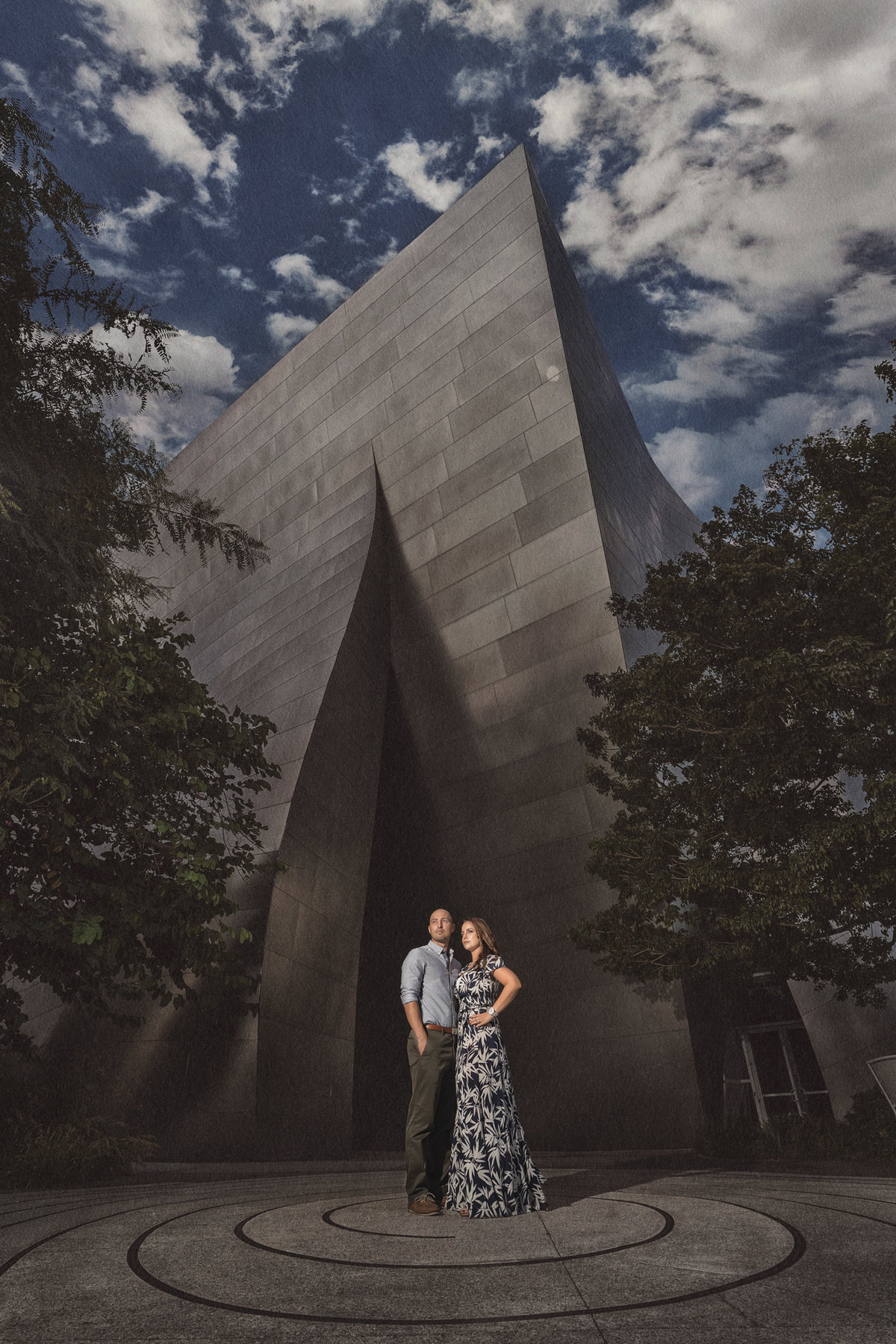 walt-disney-concert-hall-engagement-photo