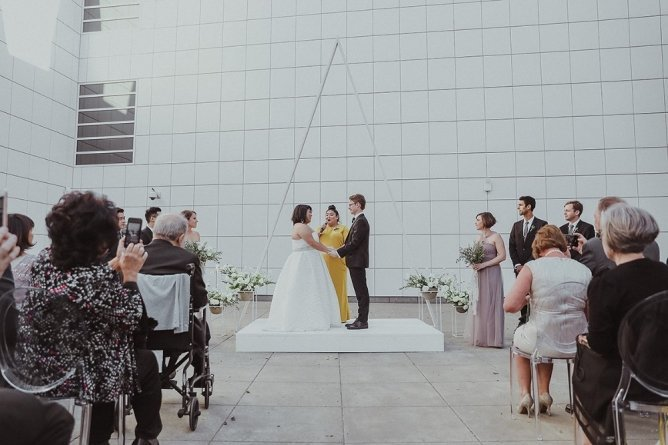 Sandy's Modern Wedding Ceremony