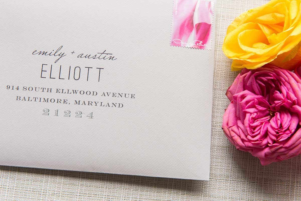 StyledShoot-ArtDeco-Envelope-Floral-Watercolor